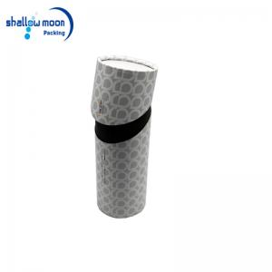 Paper tube with custom logo
